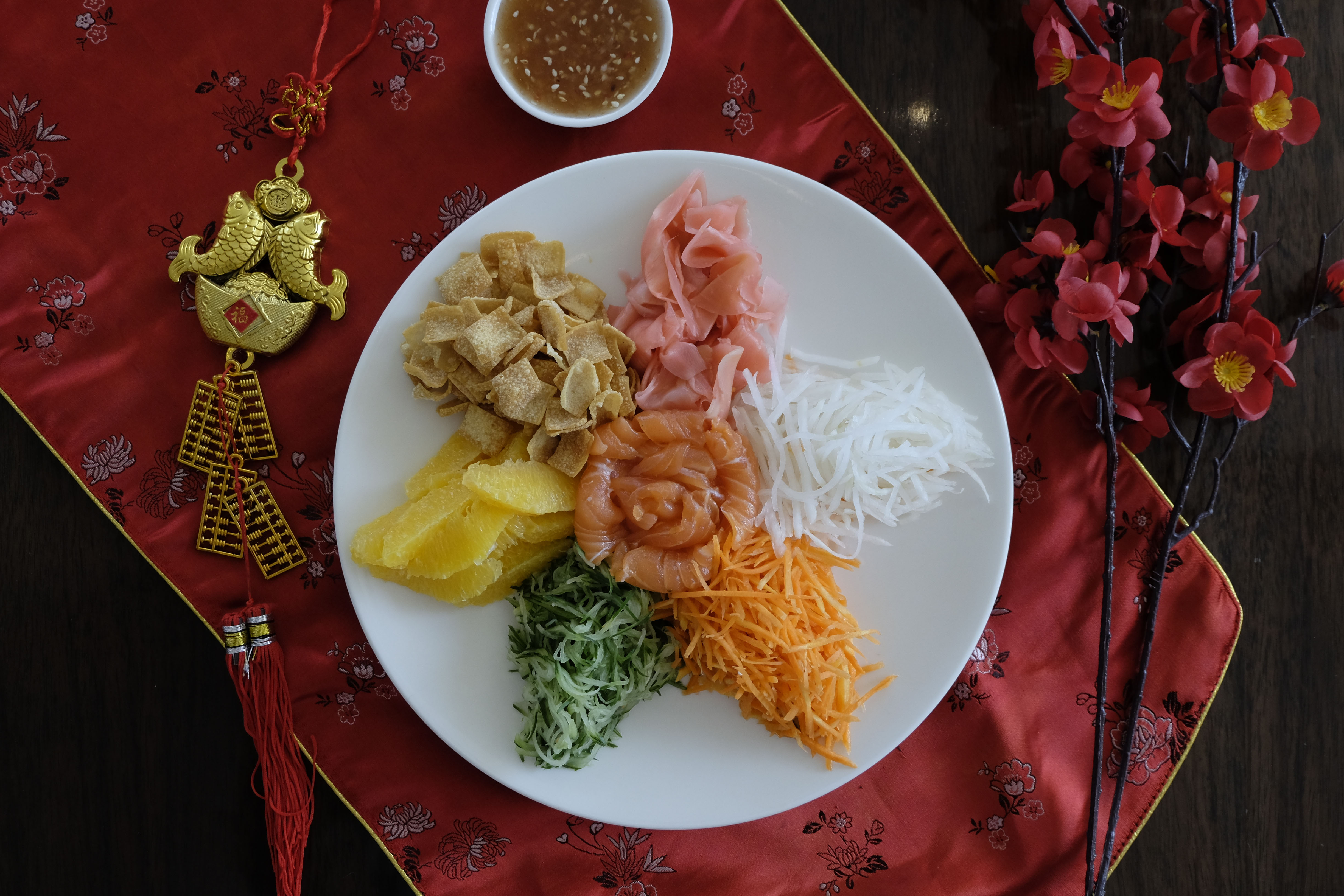 Yee Sang at Sheraton Bali Kuta Resort